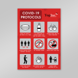 product image covid poster