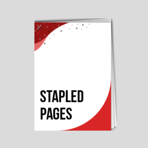 stapled pages